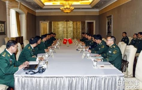 Trong buổi họp, Trung Quốc-Việt Nam cùng giới thiệu cơ cấu quân đội biên giới, nhiệm vụ từng trách nhiệm trong hồ sơ cá nhân, trao đổi giữa Trung Quốc Việt Nam về hợp tác biên giới.
