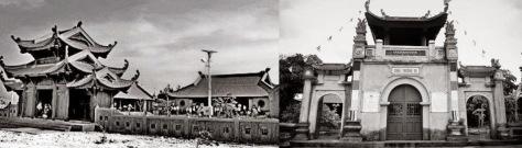 """Trên quần đảo Hoàng Sa, nhân dân xây dựng một ngôi Âm Linh Tự còn gọi """"Hoàng Sa Tự"""". Trên đảo dân cư sinh hoạt nghề đánh bắt cá, làm vườn, trồng hoa màu, ngoài ra còn có mỏ phân chim và các mỏ khoán sản khác. Nguồn: Tài liệu ảnh lưu: Huỳnh Tâm."""
