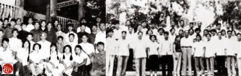 Bắc Kinh, ngày 16 tháng 11 năm 1960, công bố tài liệu trường Dục Tài (Yucai) đã đào tạo học tập tốt về chính trị và huấn luyện quân sự. Nguồn: Tài liệu Huỳnh Tâm.