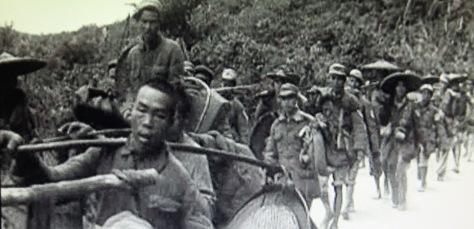 Quân biệt kích và tình báo Trung Quốc, xâm nhập vào Việt Nam năm 1965. Nguồn: Tình báo Hoa Nam.