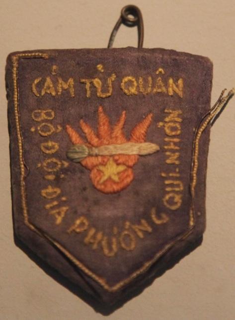 """Tình báo Hoa Nam cụm DTT347, xâm nhập miền Nam Việt Nam năm 1967. Với tư cách cố vấn huấn luyện quân sự """"Cảm tử quân Qui Nhơn"""". Nguồn: DTT347 cung cấp."""