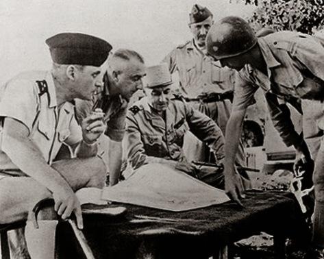Tướng Navarre tại Điện Biên Phủ.