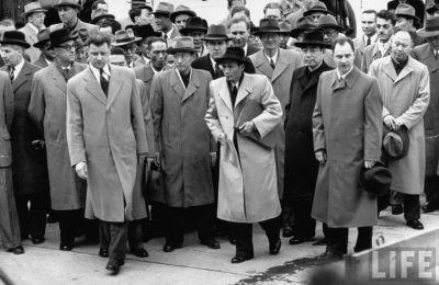 Trung Quốc là một cơn ác mộng của Việt Nam? Các phái đòan đến Hội nghị Genève (Genève, Switzerland, 1954). Nguồn/Photo: Time Inc./Frank Scherschel.