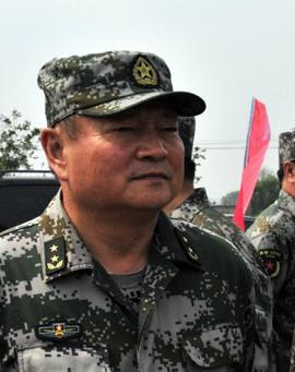 Thiếu tướng Trương Hựu Hiệp (张又侠 - Zhang Youxia). Ảnh: Hải Âu (海鸥DF-1, Q40)