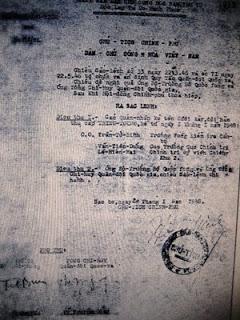 Sắc lệnh phong quân hàm Thiếu tướng cho các tướng. Ảnh: Tình báo Hoa Nam.