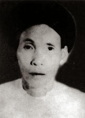Người vợ đầu tiên bà Hoàng Thị Diễm (黄氏艳)