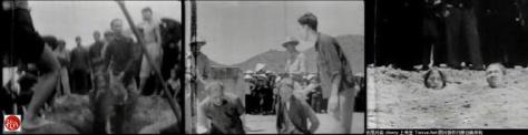 Cải cách ruộng đất, tiến trình đấu tố chôn sống địa chủ bên Trung Quốc đang hoành hành tại đất miền Bắc Việt Nam (1953-1956). Nguồn: tài liệu Huỳnh Tâm.
