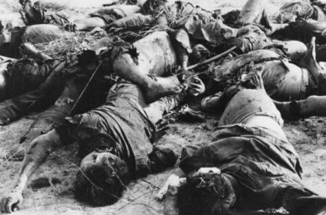 Ngày 25/02/1979. Dân quân Hà Giang Việt Nam, tử vong. Nguồn ảnh: Hoa Chí Cường