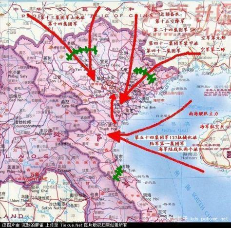 Bắc Kinh đã lập kế hoạch, chiến thuật bí mất, dự liệu tiến quân đánh úp thủ đô Hà Nội của Việt Nam. Nguồn: Nhất Biến.