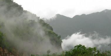 Đỉnh dãy núi Pu Si Lung biên giới Việt Nam-Trung Quốc. Ảnh: La Minh