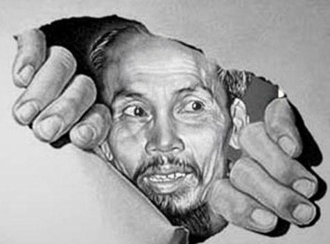 Image result for Hí hoạ:bản mặt tên Hồ chí minh bán nước