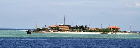 Đảo Sinh Tồn Đông là một cồn cát thuộc cụm Sinh Tồn. Nguồn: tài liệu Huỳnh Tâm.