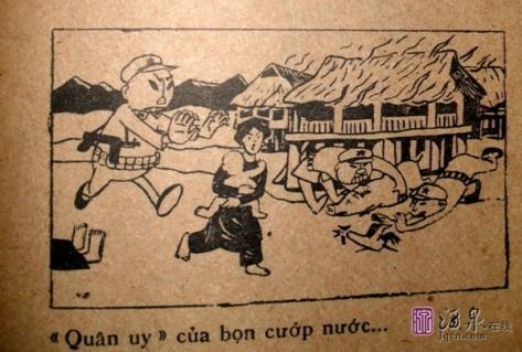 Quân đội Trung Cộng cướp bóc tài sản của nhân dân biên giới Việt Nam.