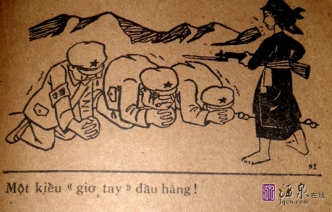 Quân đội Trung Cộng (PLA) kẻ thua cuộc sợ chết.