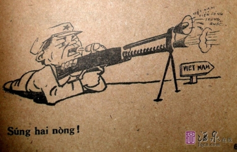 Quân đội Trung Cộng (PLA) xâm chiến Việt Nam