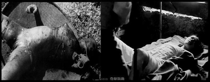 Nữ tù binh Việt Nam bị hảm hiếp, sau đó đốt cháy thủ tiêu. Cảnh này chúng tôi đã nhìn thấy trên chiến trường, và những chứng nhân tường thuật lại trong cuộc chiến tranh biên giới VN-TQ. Nguồn: Tài liệu Huỳnh Tâm.