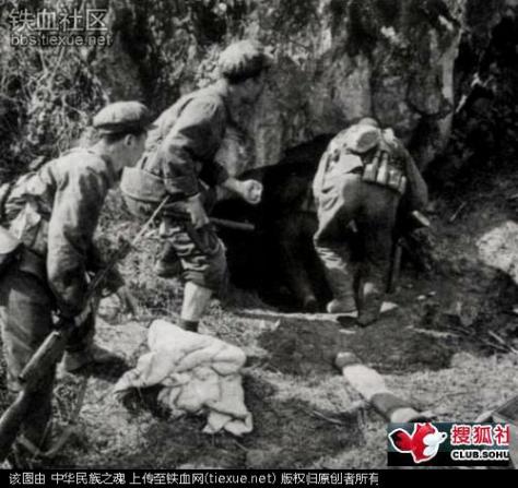 Tiểu đoàn 159 của TC, bám sát động Thạch Sơn, trong động hiểm trở có nhiều bậc thang và ngõ ngách. Nguồn: tài liệu Huỳnh Tâm. [4]