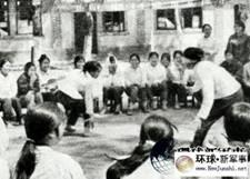 Chiến tranh biên giới VN-TQ, ngày 17/2/1979-1989. Trên 421 nữ tù binh Việt Nam tại trại Lâm Sơn tỉnh Vân Nam, Trung Cộng. Nguồn: Tài liệu Huỳnh Tâm.