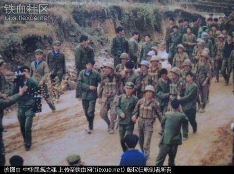 Tù binh TC tái phục hồi vũ trang, tiếp tục ra chiến trường. Nguồn: Tài liệu Huỳnh Tâm