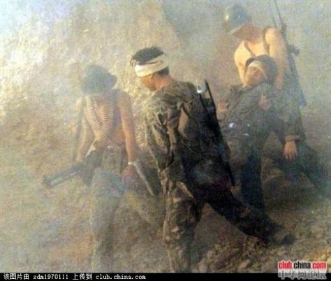Quân đội TC bị thương vong trong trận chiến Lào Cai. Nguồn: Tài liệu Huỳnh Tâm