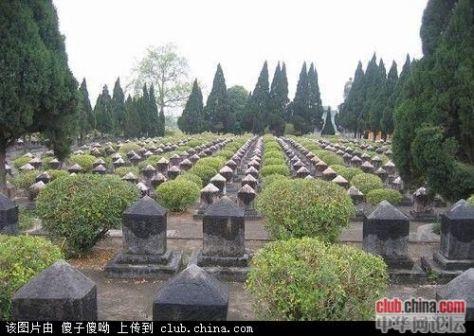 Trung Quốc có 24.787 ngôi mộ, Liễu Châu Quảng Tây là một trên 315 nghĩa trang. Nguồn: Tài liệu Huỳnh Tâm.[4]