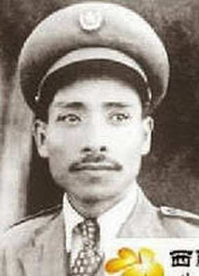 Thiếu tướng Nguyễn Sơn (Hồng Thủy,Vũ Nguyên Bác), ảnh chụp vào năm 1955. Nguồn: tài liệu Huỳnh Tâm.