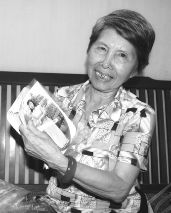 """Tác giả Phùng Thượng Viện, người lính trinh sát mặt trận """"Thập Vạn Đại Sơn"""" 1949. . Nguồn: Tài liệu Huỳnh Tâm."""