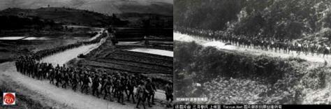 (PLA) Trung Cộng tăng cường cấp Sư đoàn quyết lấy được dãy núi Lão Sơn. Nguồn: Tài liệu ảnh lưu: Huỳnh Tâm.
