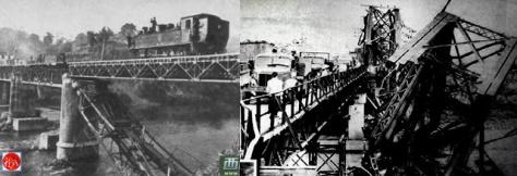Cầu Sông Lô. Nguồn: Tài liệu ảnh lưu: Huỳnh Tâm.