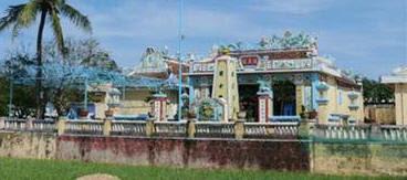 Hoàng Sa Tự còn gọi Âm Linh Tự, trên đảo Phú Lâm. Nguồn: Quảng Ngãi. Nguồn: Tài liệu ảnh lưu: Huỳnh Tâm.