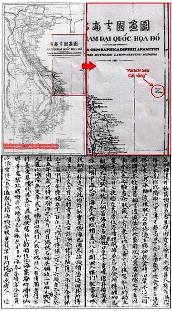 Hồ sơ chủ quyền Quần đảo Hoàng Sa và Trường Sa của Tổ Quốc Việt Nam. Nguồn: Tài liệu ảnh lưu: Huỳnh Tâm.